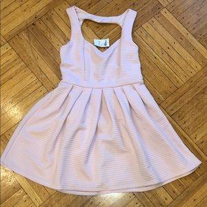 Charlotte Russe light pink mini dress